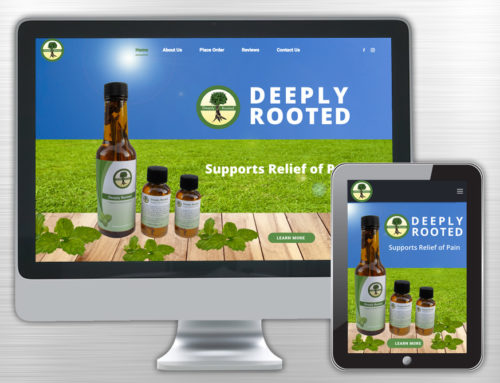 Deeply Rooted Inc. Website