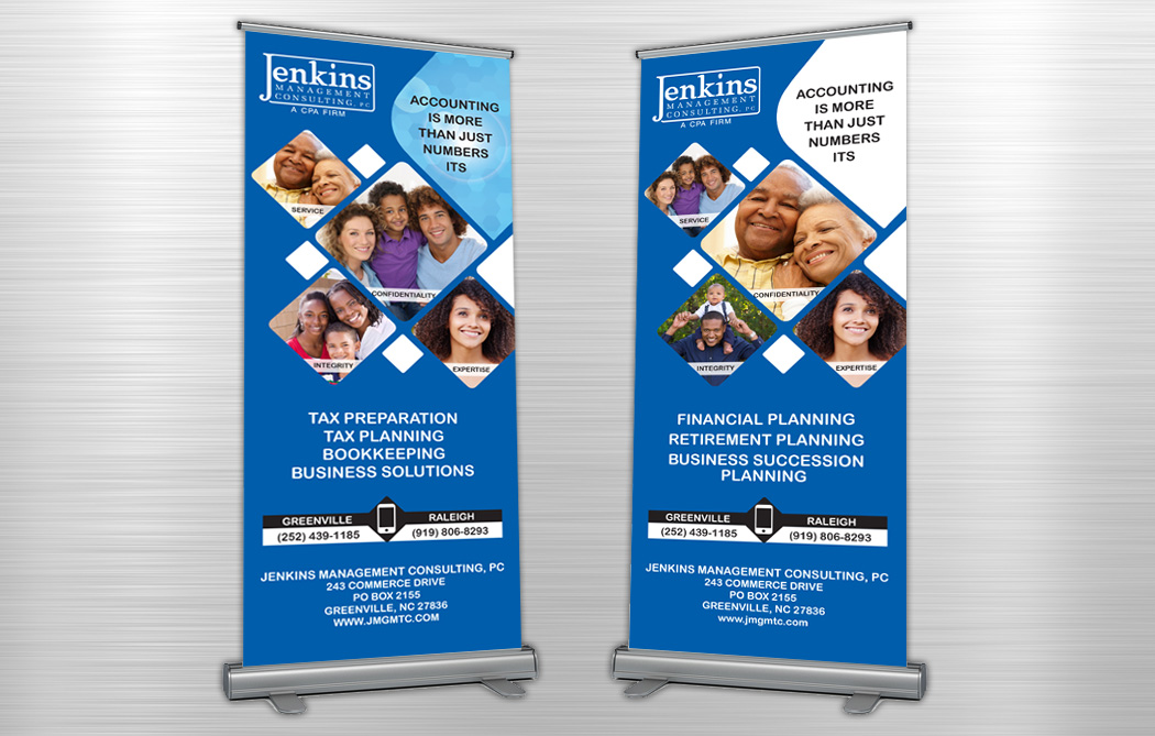 Jenkins Management Consulting Banners - Jenkins Creative ...