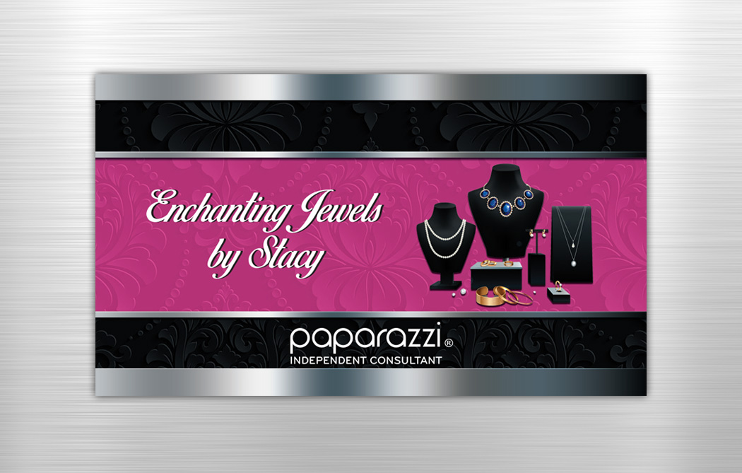 Paparazzi Jewelry Business Cards Jenkins Creative Designs