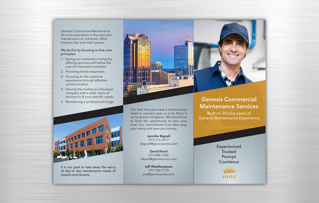 Genesis Commercial Real Estate Brochure | Jenkins Creative